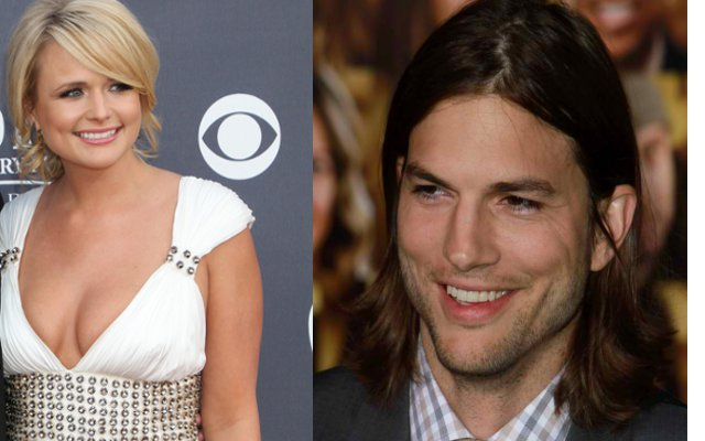 Miranda Lambert and Ashton Kutcher No Longer Feuding