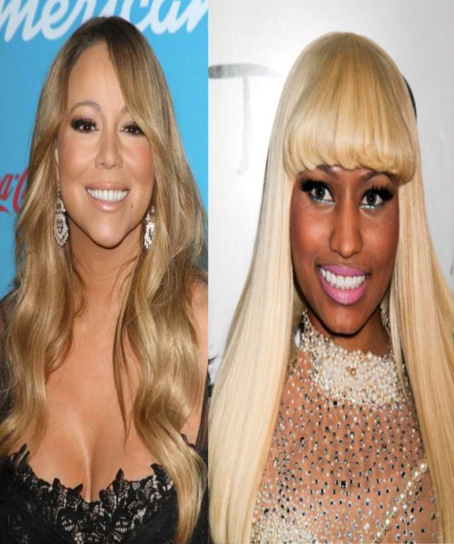 American Idol Drama Nicki vs Mariah3