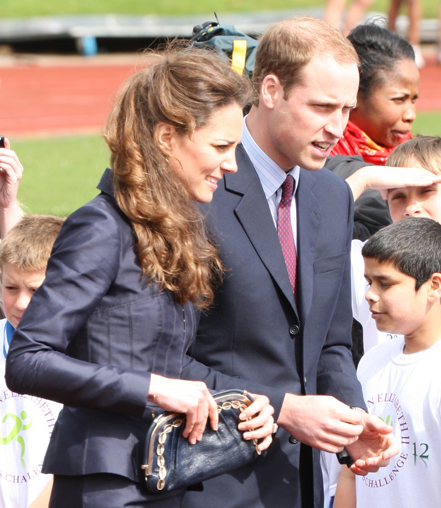 Prince William and Kate Middleton Visit Witton Country Park in Darwen on April 11, 2011